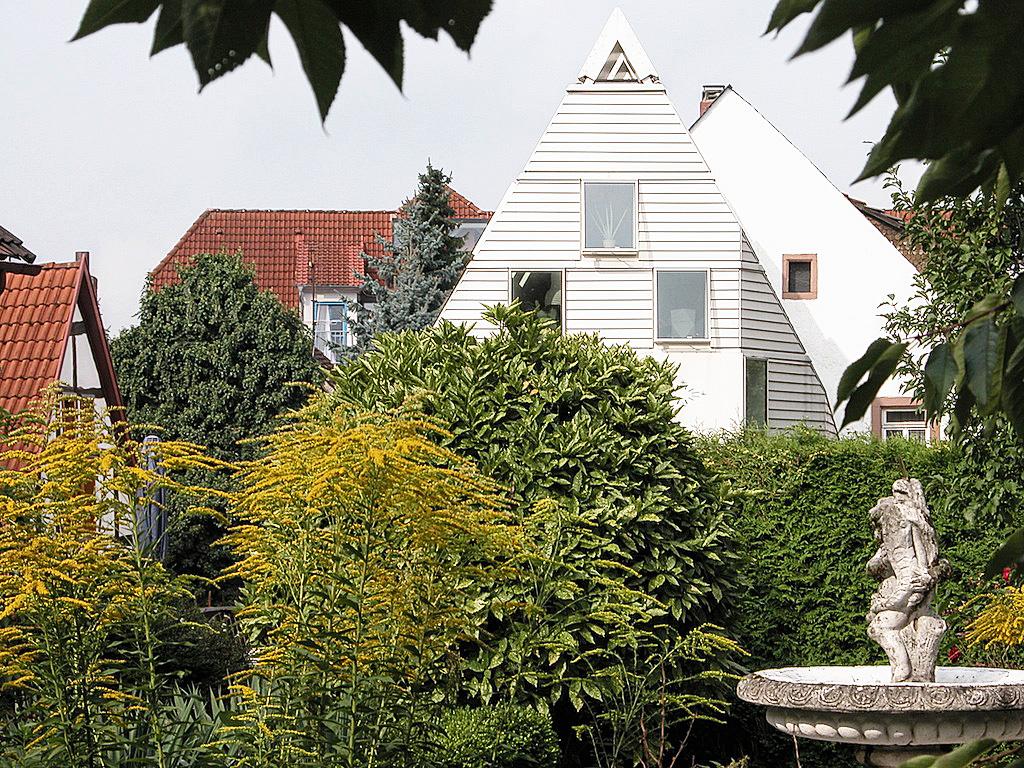 view from opposite garden